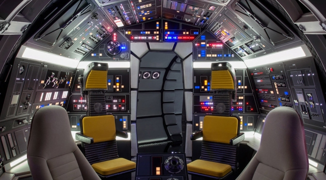 The 'Brand NEW' Millennium Falcon Cockpit