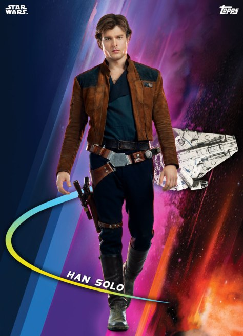 Topps Solo A Star Wars Story Trading Cards Base Series Han Solo