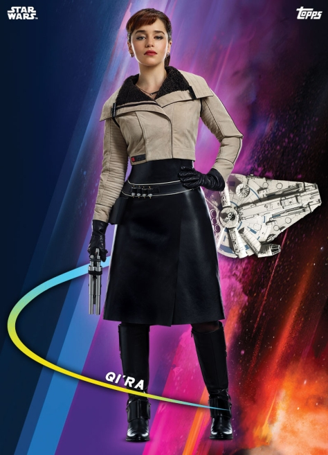 Topps Solo A Star Wars Story Trading Cards Base Series Qira