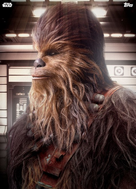 Topps Solo A Star Wars Story Trading Cards Premiere Chewie