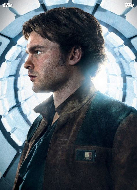 Topps Solo A Star Wars Story Trading Cards Premiere Han