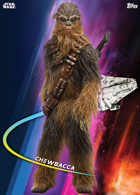 Topps Star Wars Card Trader Solo A Star Wars Story Chewbacca