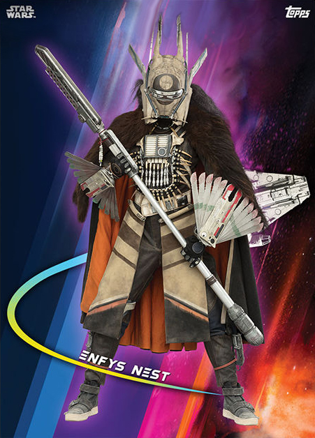 Topps Star Wars Card Trader Solo A Star Wars Story Enfys Nest
