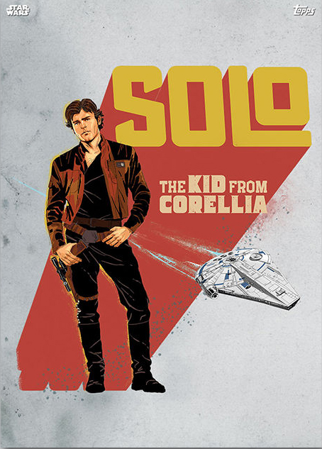 Topps Star Wars Card Trader Solo A Star Wars Story Han Solo