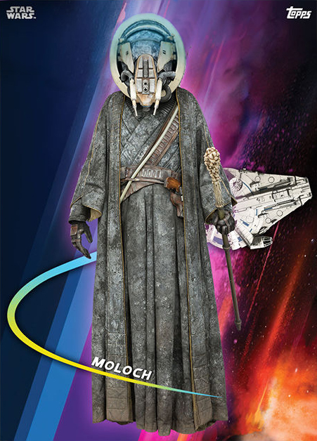 Topps Star Wars Card Trader Solo A Star Wars Story Moloch