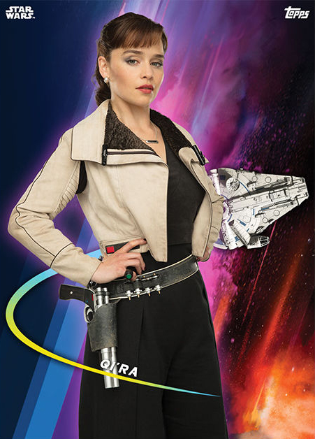 Topps Star Wars Card Trader Solo A Star Wars Story Qi Ra