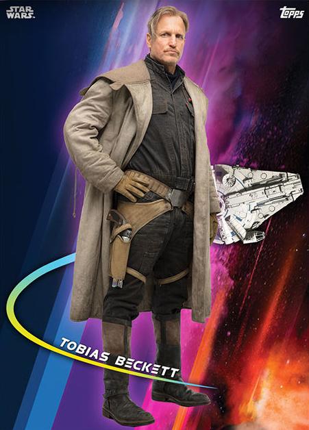 Topps Star Wars Card Trader Solo A Star Wars Story Tobias Beckett