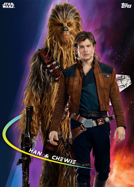 Topps Star Wars Card Trader Solo A Star Wars Story