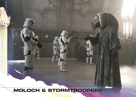 Topps Trading Cards Countdown to Solo A Star Wars Story - No 3 - Moloch and The Stormtroopers
