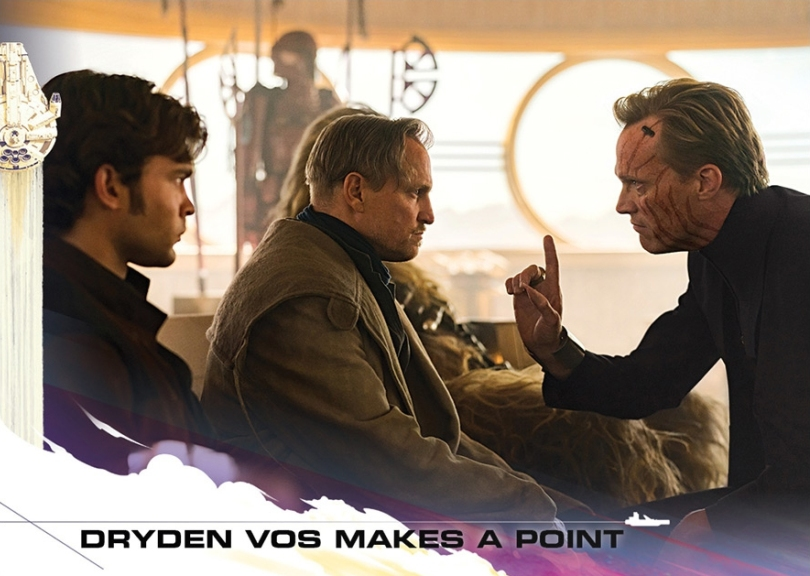 Topps Trading Cards Countdown to Solo A Star Wars Story - No 5 - Dryden Vos makes a Point