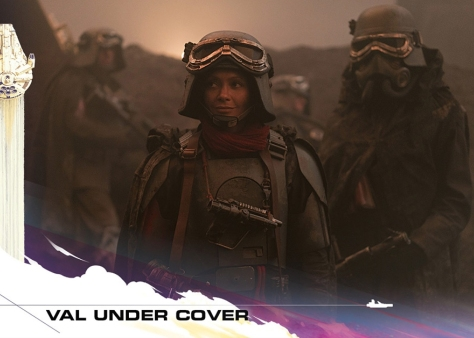 Topps Trading Cards Countdown to Solo A Star Wars Story - No 8 - VAL Under Cover