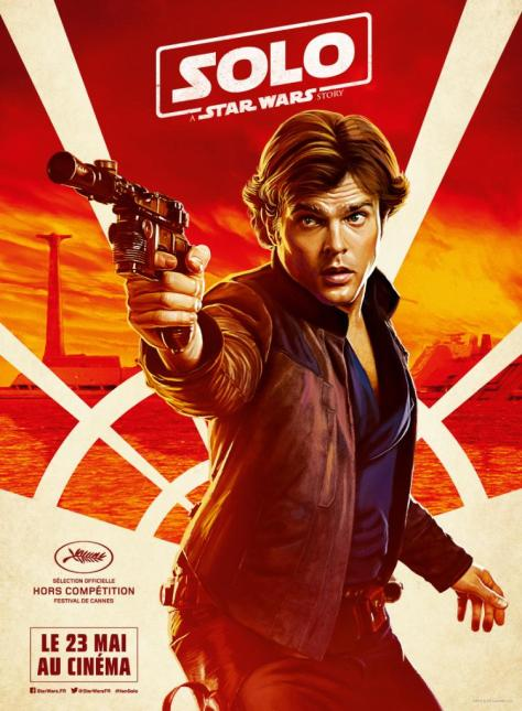 Festival de Cannes Out of Competition Solo A Star Wars Story Character Posters - Han Solo
