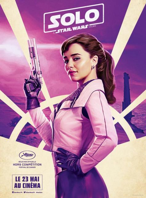 Festival de Cannes Out of Competition Solo A Star Wars Story Character Posters QiRa