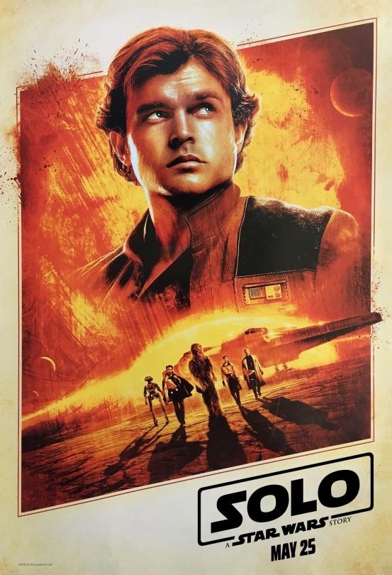 Han Solo A Star Wars Story Disneyland Star Wars Night Exclusive Merchandise Poster