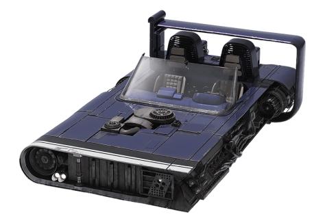 Han's Speeder - Mobquet M-68 Landspeeder