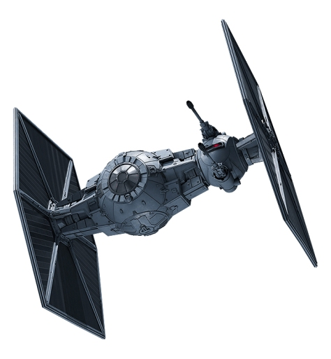 Heavy Armoured Tie Fighter - Sienar Fleet Systems TIE rb Heavy Starfighter