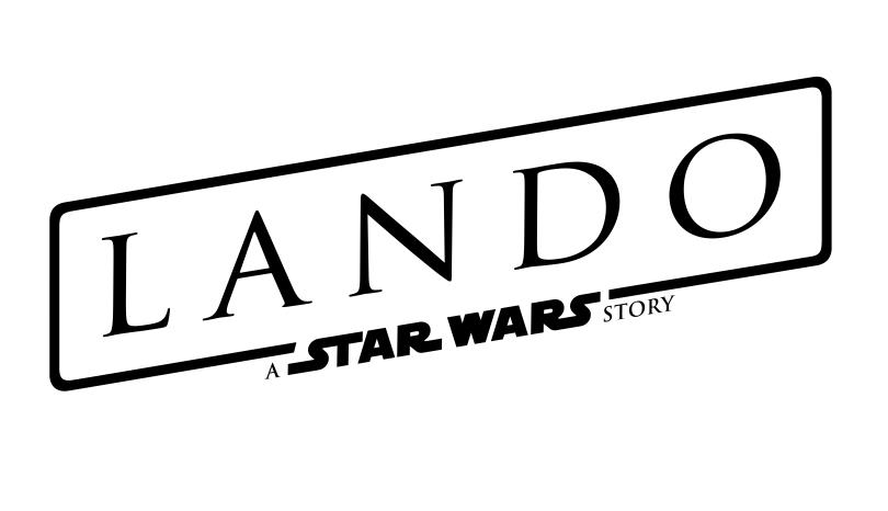 Lando A Star Wars Story Logo NEW - Large Hi-Res