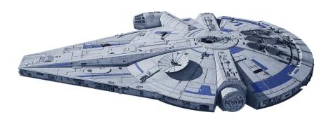 Millennium Falcon - Modified Corellian Engineering Corporation YT-1300 Light Freighter