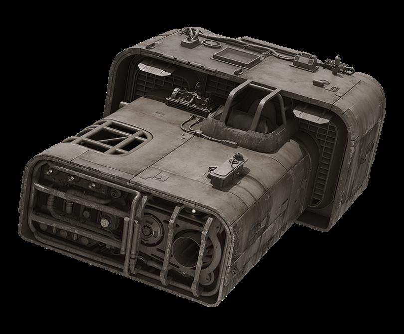 Moloch's Landspeeder - Trast Heavy Transports A-A4B Landspeeder