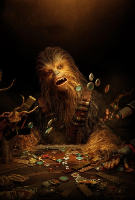 NEW Chewbacca SOLO - A Star Wars Story Character Poster Textless