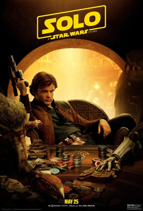 NEW Han Solo A Star Wars Story Character Poster