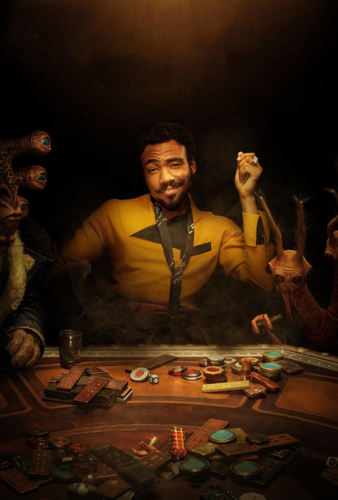 NEW Lando A Star Wars Story Character Poster Textless