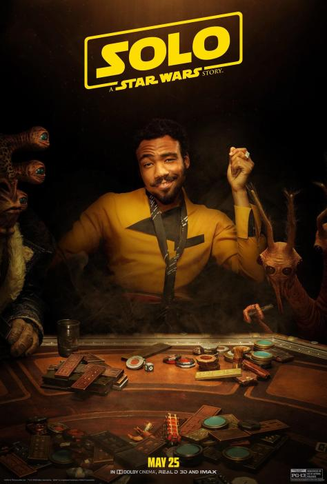 NEW Lando A Star Wars Story Character Poster
