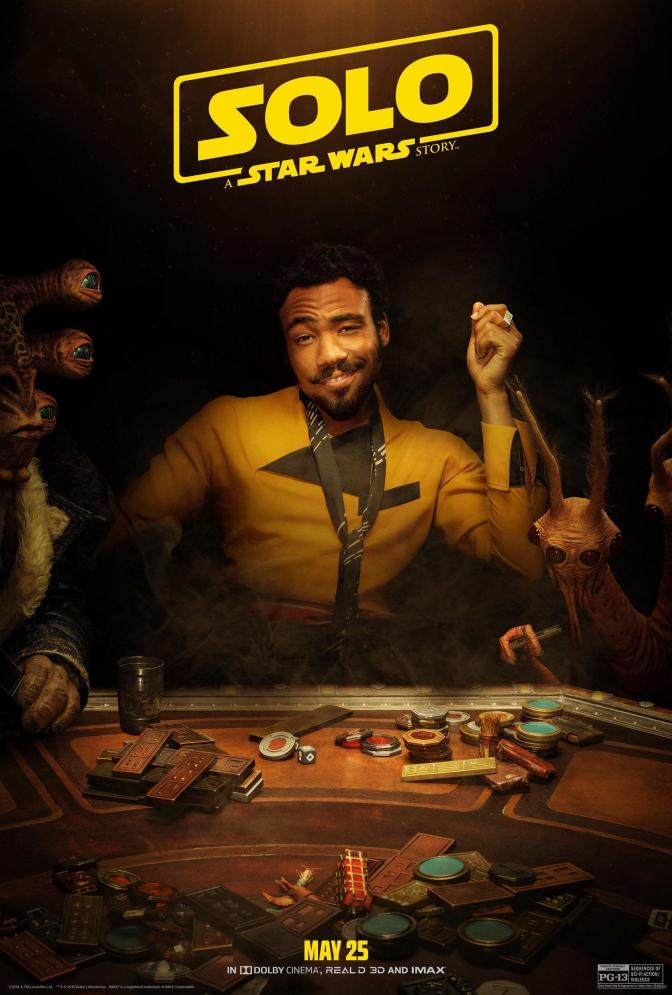 NEW!! – LANDO –  SOLO: A Star Wars Story Character Poster