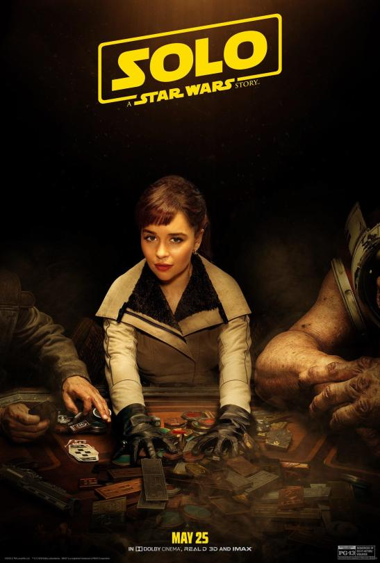 NEW Qira SOLO - A Star Wars Story Character Poster