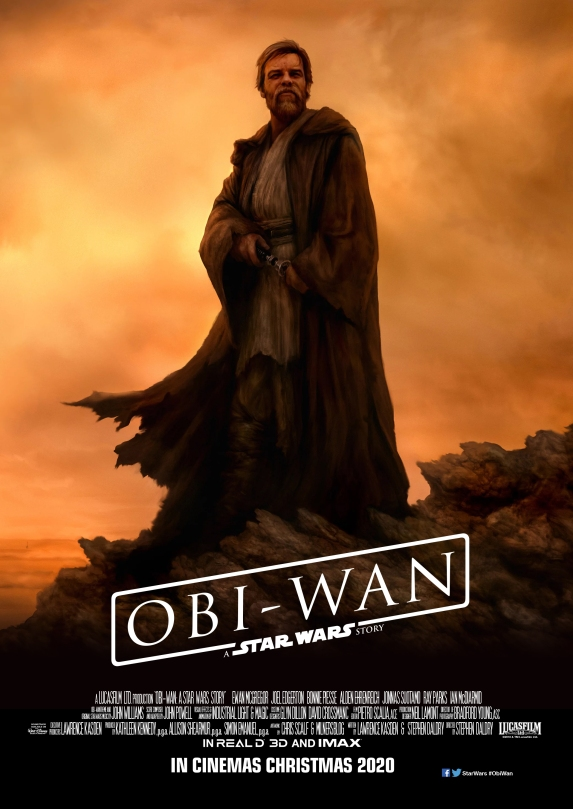 Obi Wan - A Star Wars Story Film Poster Fan Art