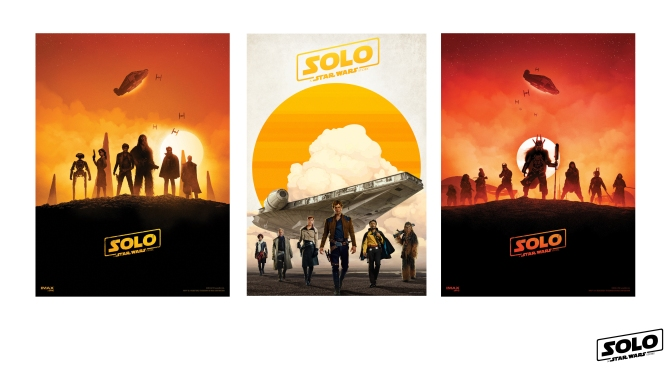 SOLO : A Star Wars Story Cinema Poster Giveaway