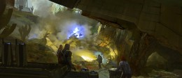 Solo A Star Wars Story Concept Art - Spice Mines of Kessel