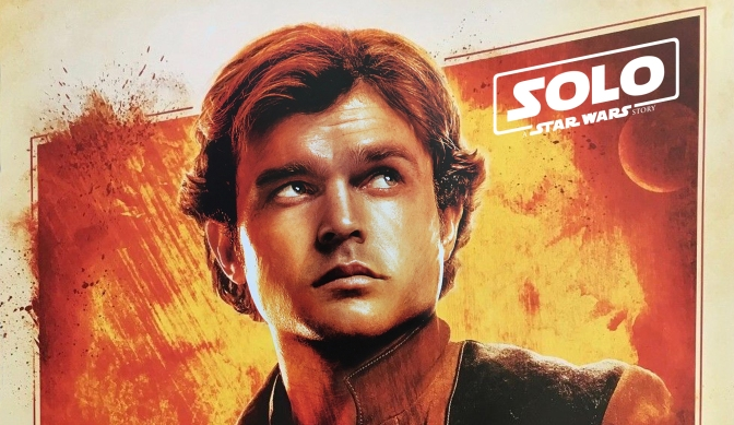 Solo A Star Wars Story Disneyland Star Wars Night Exclusive Merchandise Poster
