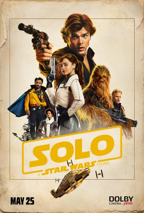Solo A Star Wars Story Dolby AMC Exclusive Film Poster