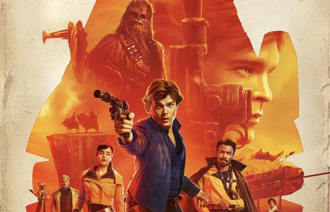 SOLO : A Star Wars Story Exclusive IMAX Poster