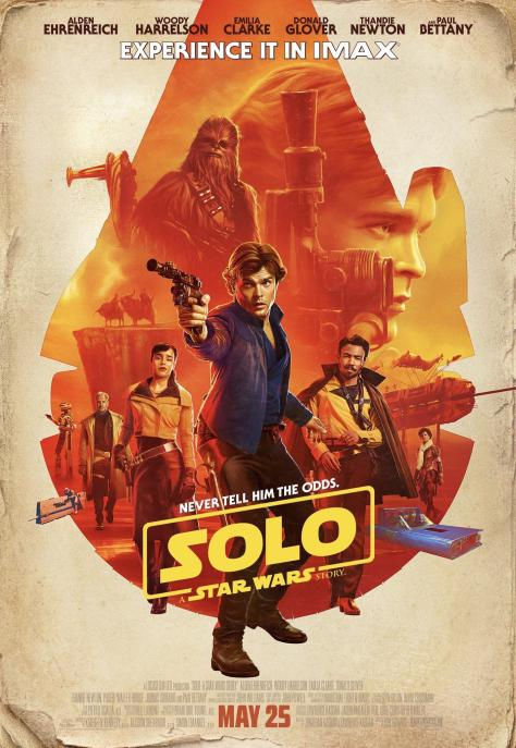 Solo A Star Wars Story Exclusive IMAX Poster