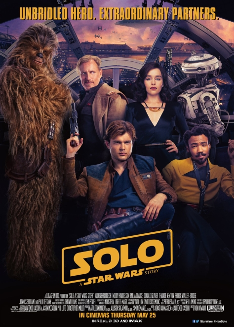 Solo A Star Wars Story NEW 'Chinese' Poster in English
