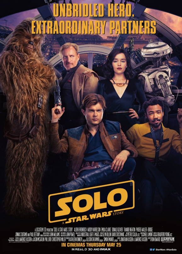 Solo A Star Wars Story NEW Chinese Poster Translated