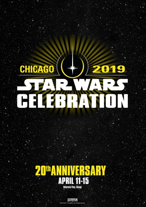Star Wars Celebration 2018 - Chicago Poster Logo Large Hi-Res