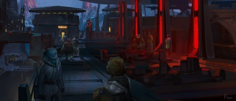 The Art of Solo A Star Wars Story Concept Art by Finnian MacManus - No 4