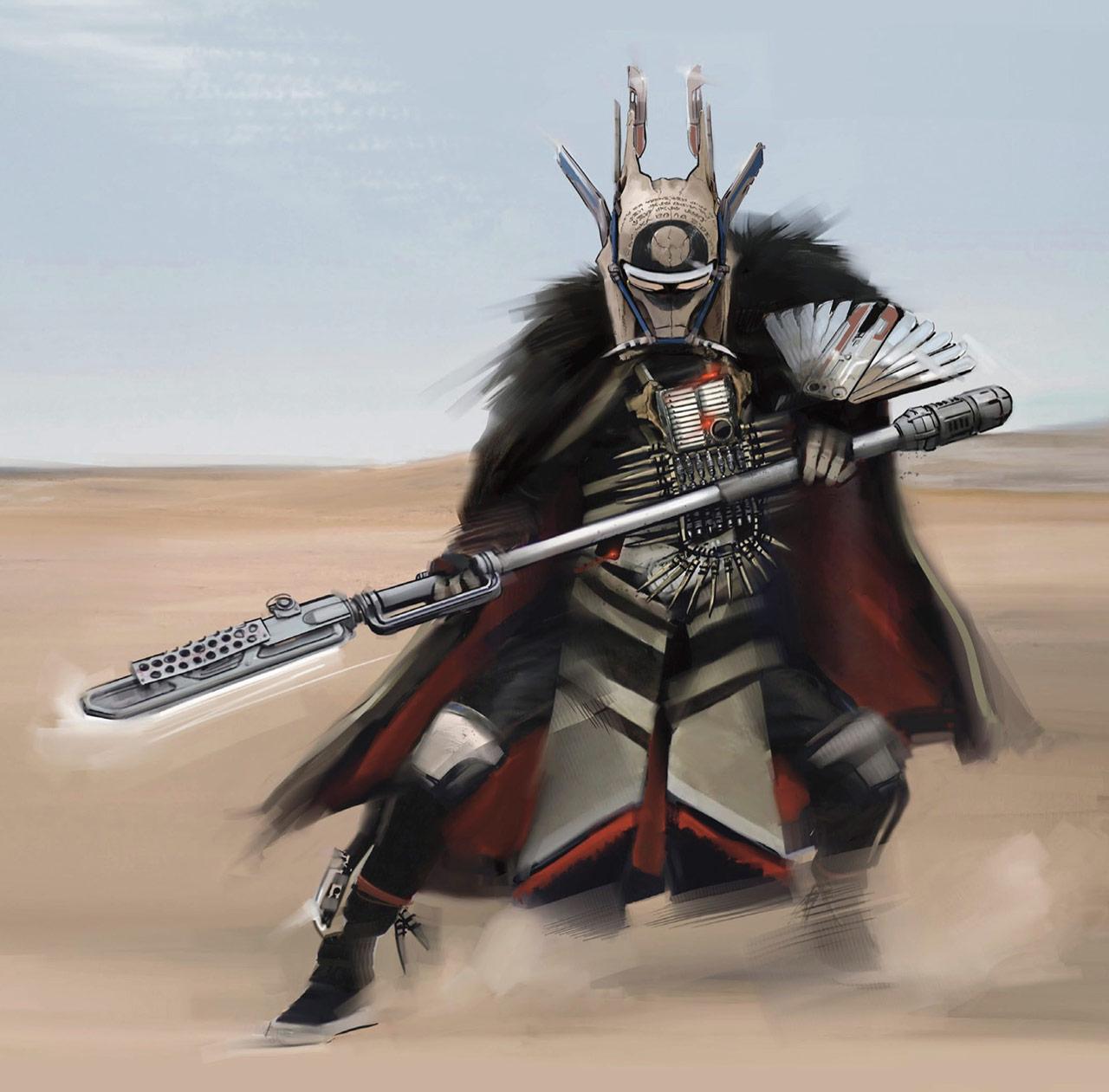 Original Star Wars Character Concept Art