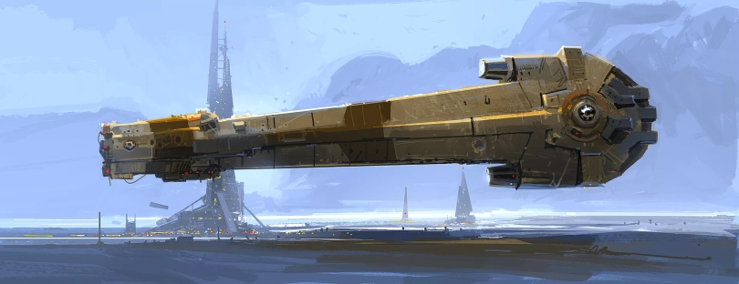 The Art of Solo A Star Wars Story Concept Art - No 63