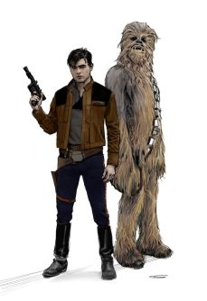 The Art of Solo A Star Wars Story Concept Art - No 64