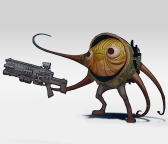 The Art of Solo A Star Wars Story Early Concept Art of Rio Durant