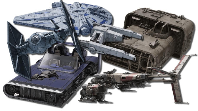 The Vehicles and Starships of SOLO: A Star Wars Story
