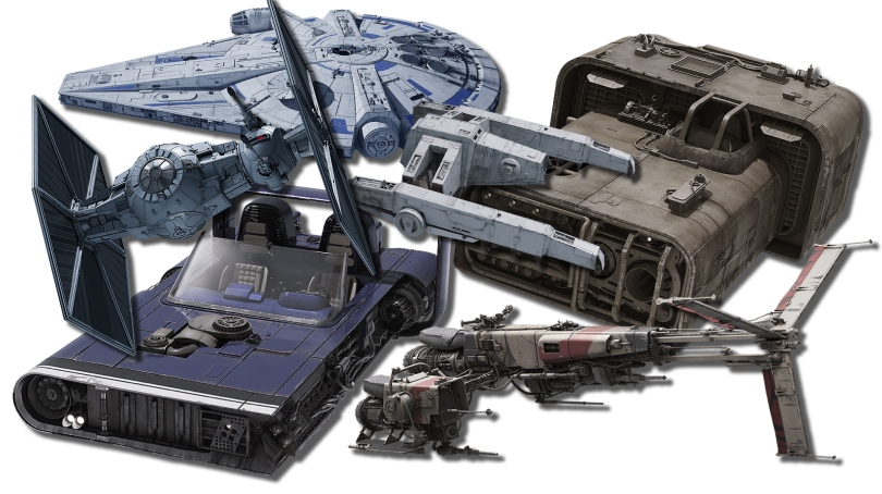 Vehicles and Spaceships of SOLO A Star Wars Story