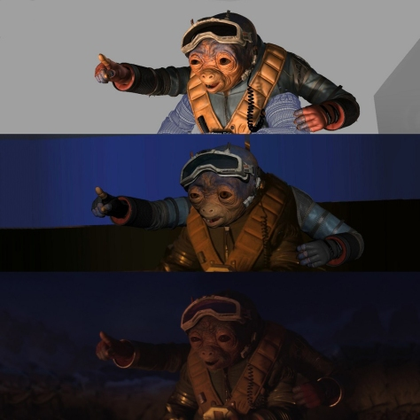 The CGI Development of Solo A Star Wars Story