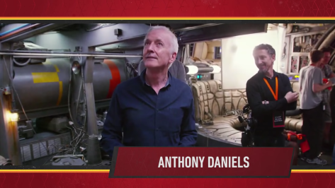 Star Wars Episode IX Official Cast Announcement - Anthony Daniels