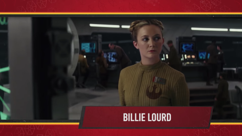 Star Wars Episode IX Official Cast Announcement - Billie Lourd