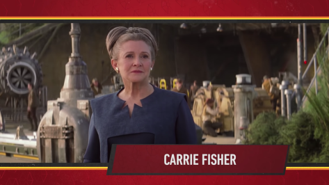 Star Wars Episode IX Official Cast Announcement - Carrie Fisher